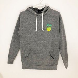 Stussy Magic 8 Ball Comfy Gray Hoodie Sweater